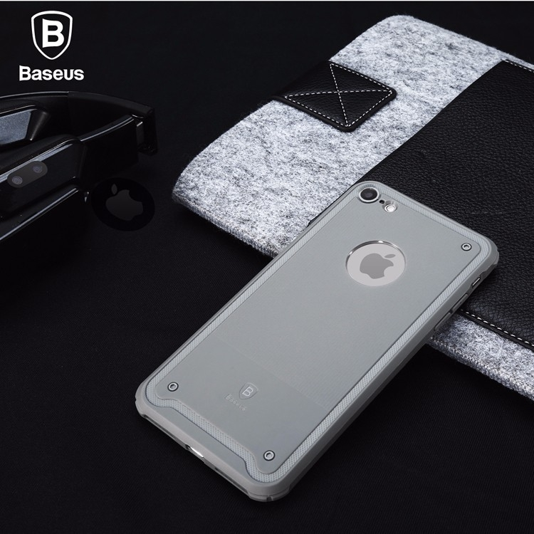 For iPhone 7  7 plus 4.7  5.5 inches Baseus Shield Case Drop-resistance Protective TPU Back Cover case Light-weighted for iPhone7  7 Plus with Retail Box (7)