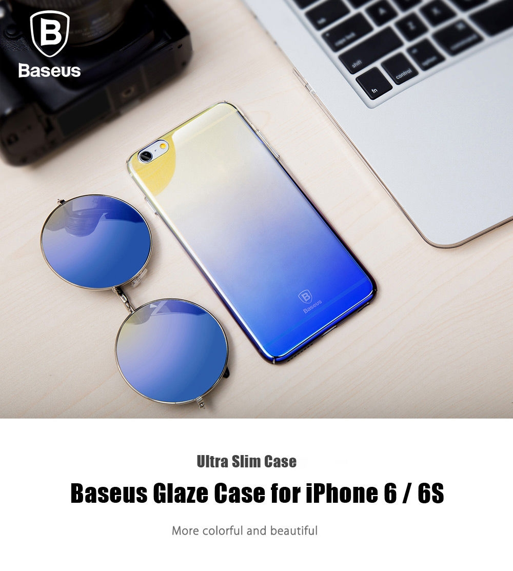 Baseus Glaze Case Ultra Slim PC Protective Skin for iPhone 6 / 6S