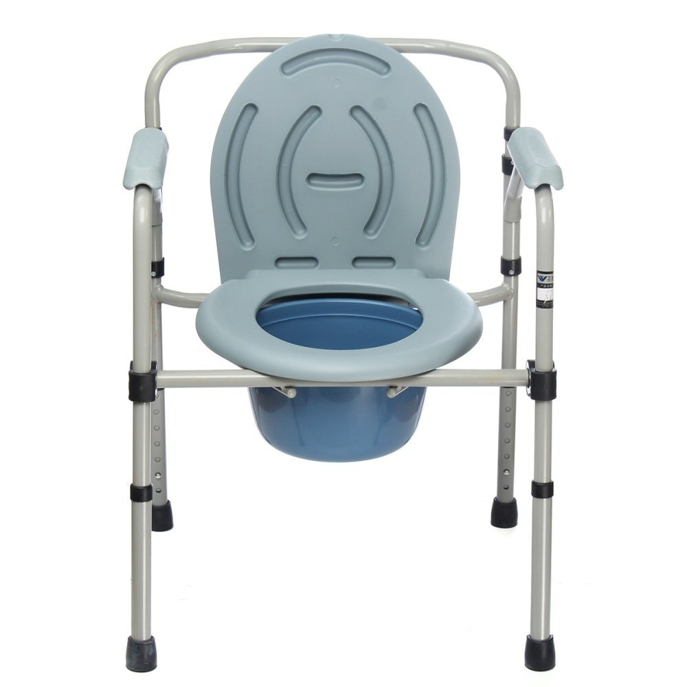 Buy Beauty Bedside Commode Portable Toilet Seat Riser Handicap ...
