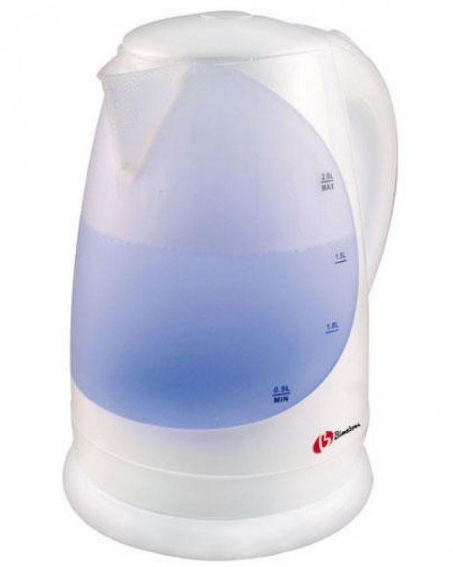 Image result for Binatone Plastic Kettle CEJ-2030, 2.0 Litre White.