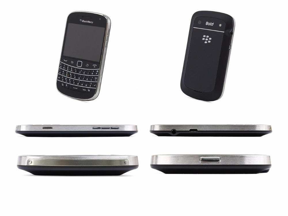 Blackberry 9900 Blod Touch Mobile Phone 3G Cell phones WiFi  5.0MP Camera QWERTY keyboard Smartphone black 5