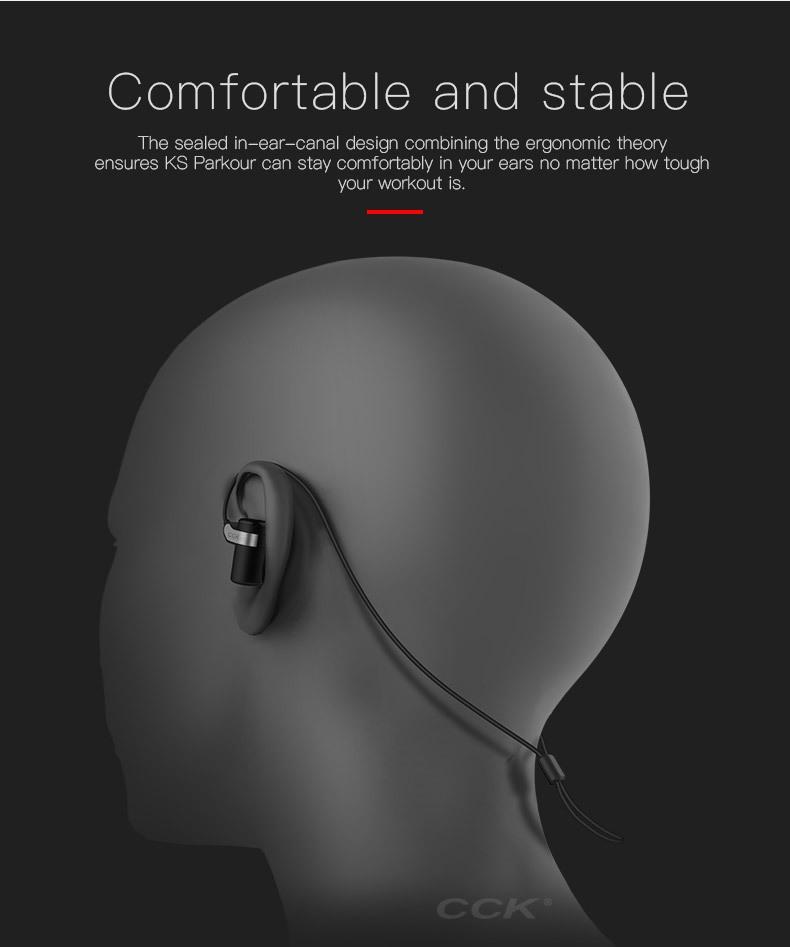 CCK KS Parkour HIFI Wireless Earphones (2)