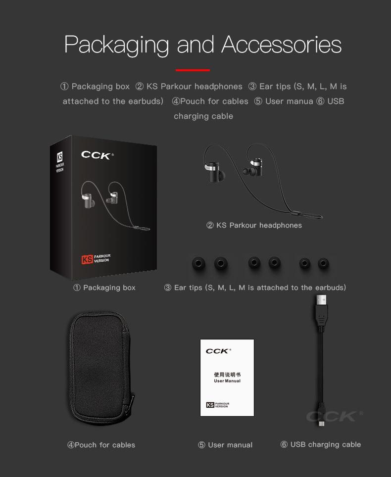 CCK KS Parkour HIFI Wireless Earphones (12)