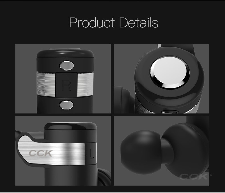 CCK KS Parkour HIFI Wireless Earphones (9)