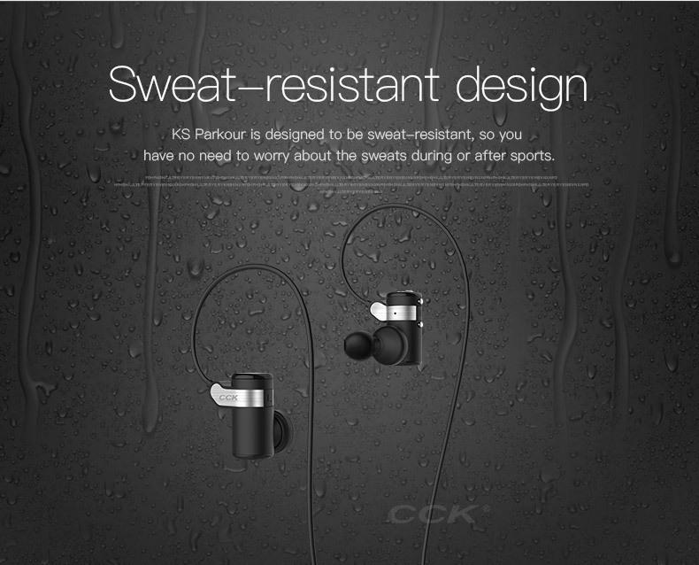 CCK KS Parkour HIFI Wireless Earphones (7)