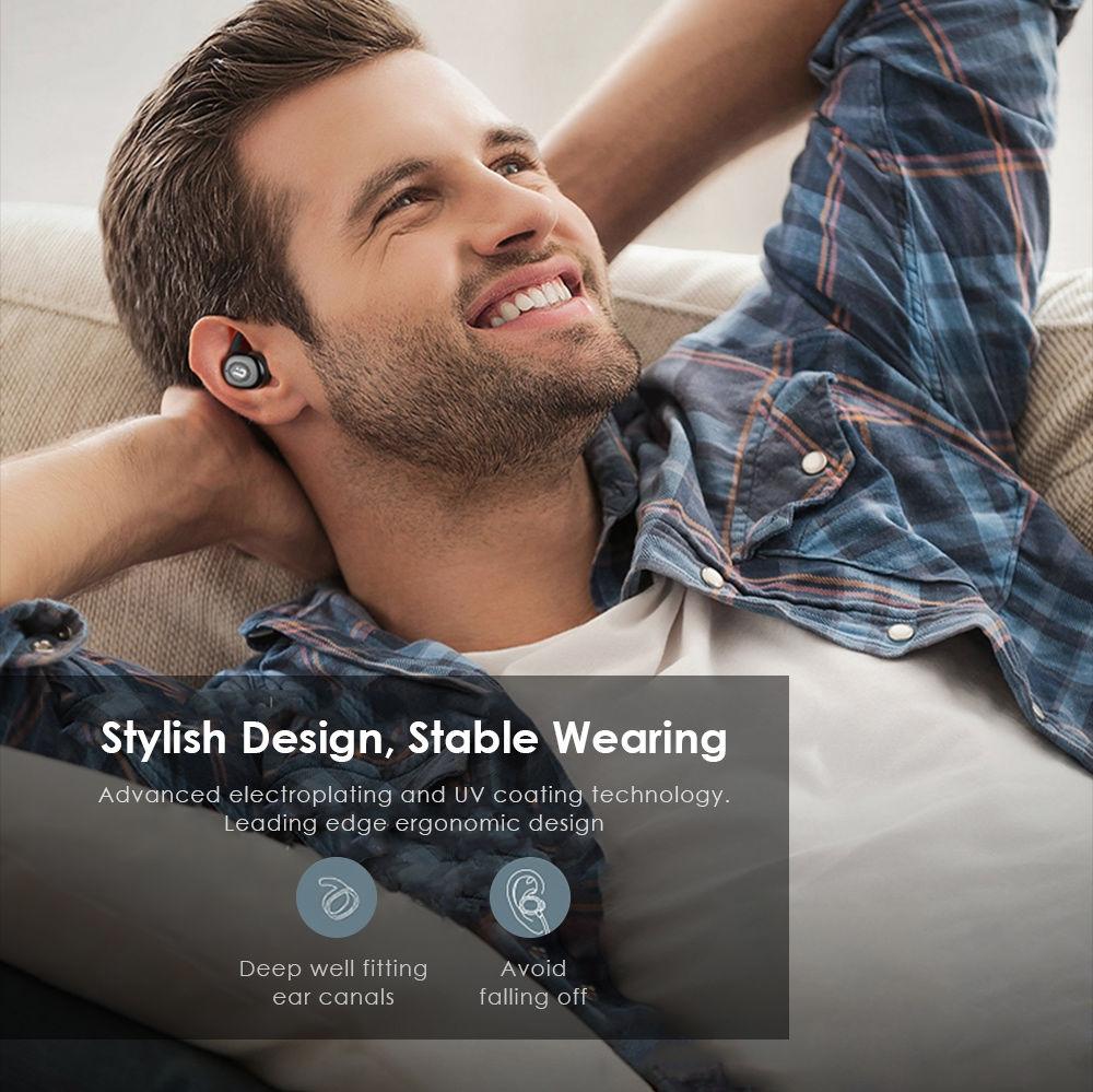 569b361667b ... BOROFONE BE8 TWS True Wireless Earbuds Bluetooth 4.1 Sports Headphones  with Recharging Storage Box ...