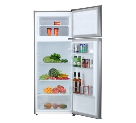 Refrigerator, 201L, Direct Cool, Double Door, Silver