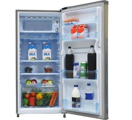 Refrigerator, 170L, Direct Cool, Single Door, Moon Silver