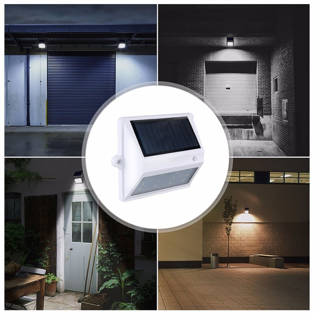 BRELONG 12LEDSolar Light Control Wall Light - Courtyard Garden Lights