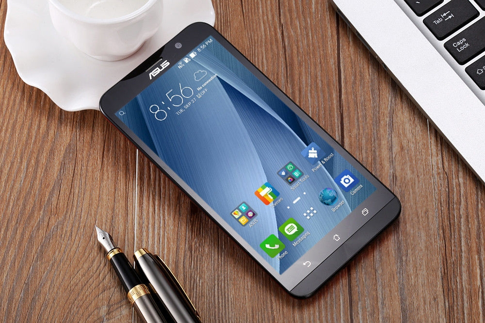 ASUS ZenFone 2 (ZE551ML) 4GB RAM 64GB ROM Android 5.0 Lollipop 4G LTE Phablet 5.5 inch FHD Screen Intel 64bit Z3580 Quad Core 2.3GHz