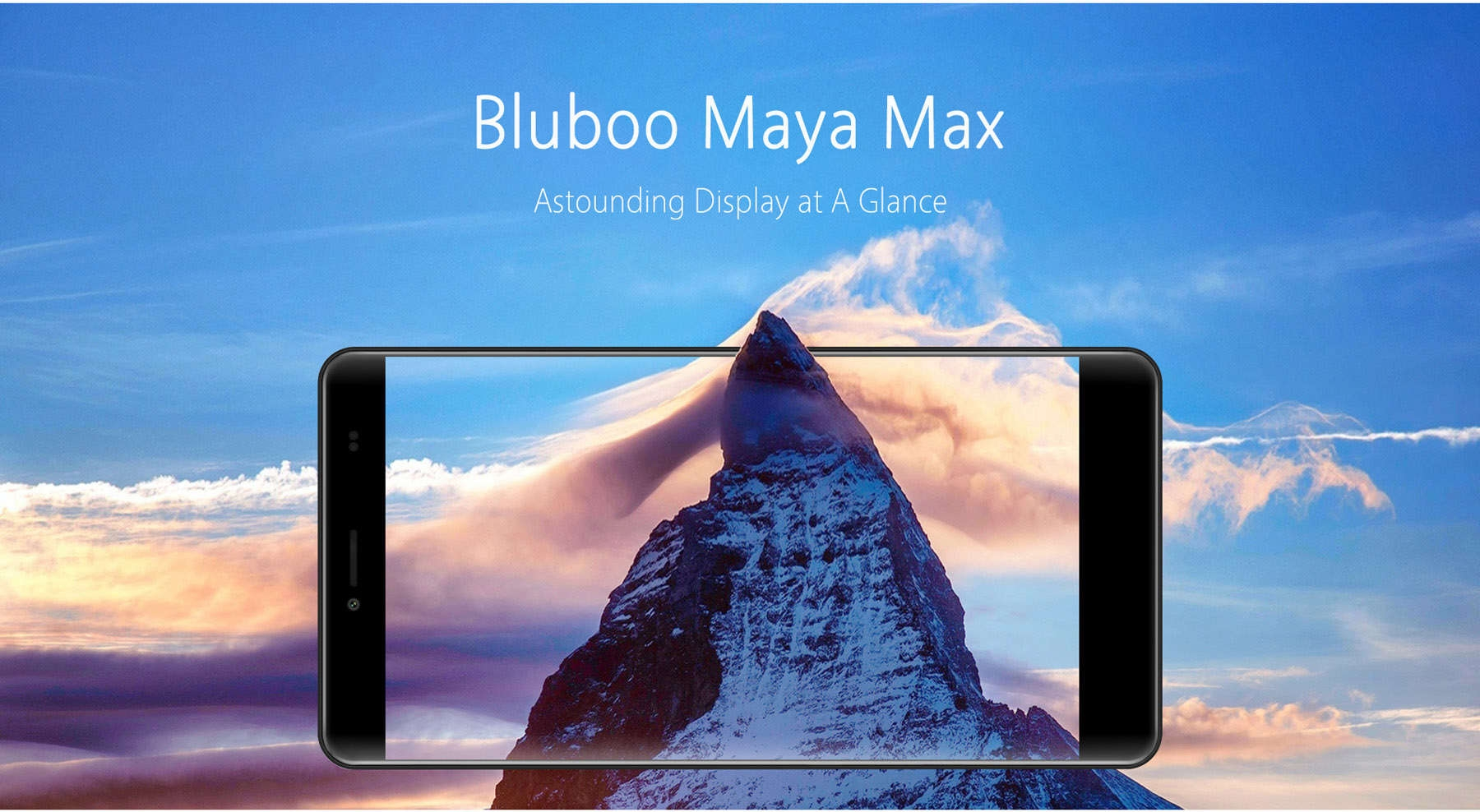 refurbish Bluboo Maya Max Android 6.0 6.0 inch 4G+ Phablet MTK6750 Octa Core 1.5GHz 3GB RAM 32GB ROM 13.0MP Rear Camera GPS OTG Fingerprint Scanner