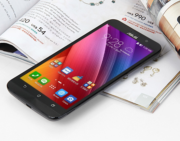 ASUS ZenFone 2 (ZE551ML) 2GB RAM 16GB ROM Android 5.0 4G 5.5 inch Phablet FHD Screen Intel 64bit Z3560 Quad Core 1.8 GHz 13MP + 5MP Dual Cameras