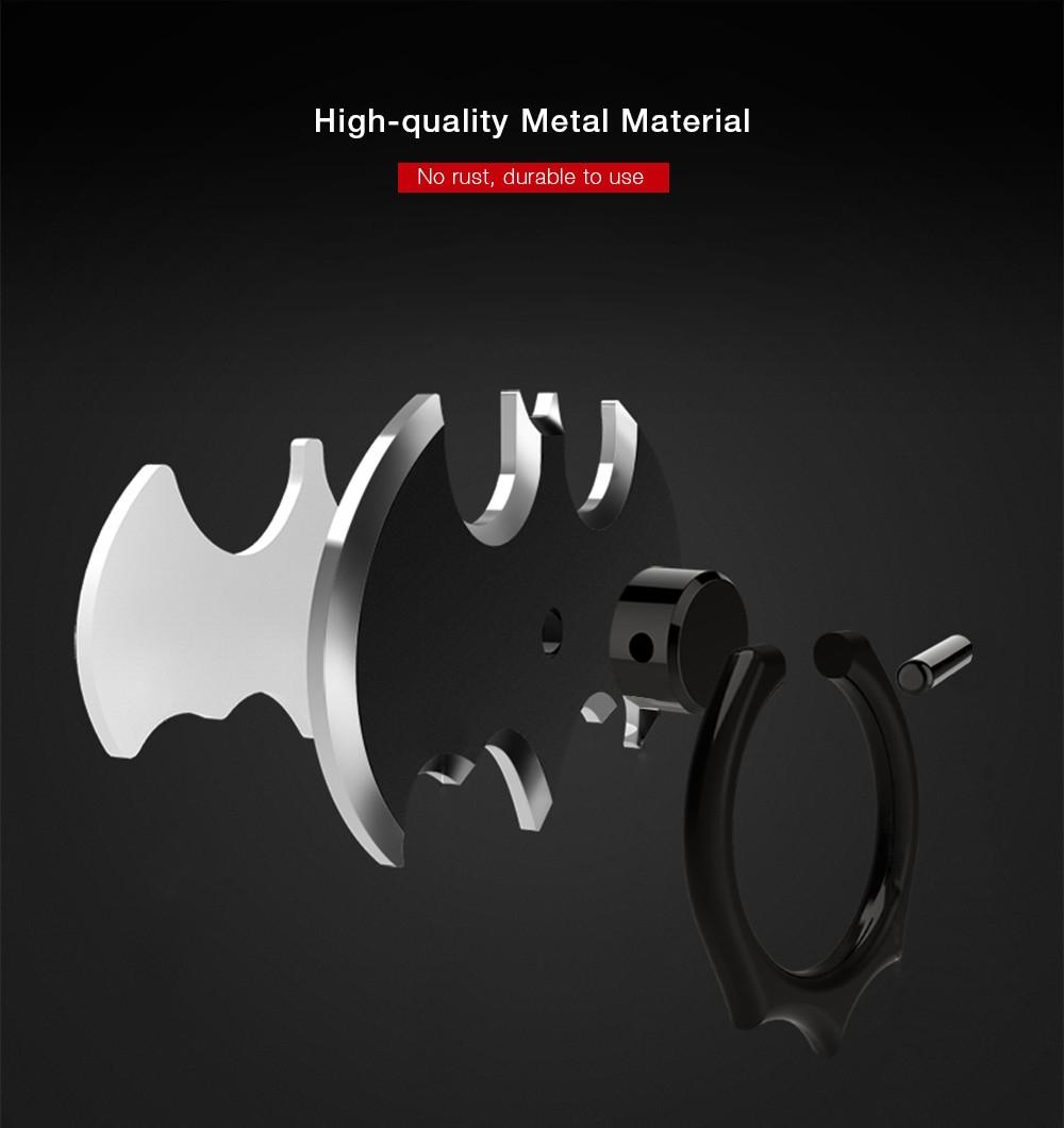 CAFELE Bat Ring Hook Car Mount Phone Grip Stand Base Universal Finger Holder Set
