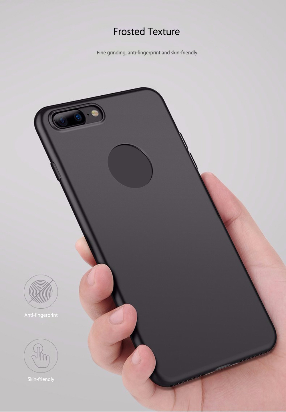 CAFELE Touch Series Case Protective TPU Skin for iPhone 7 Plus