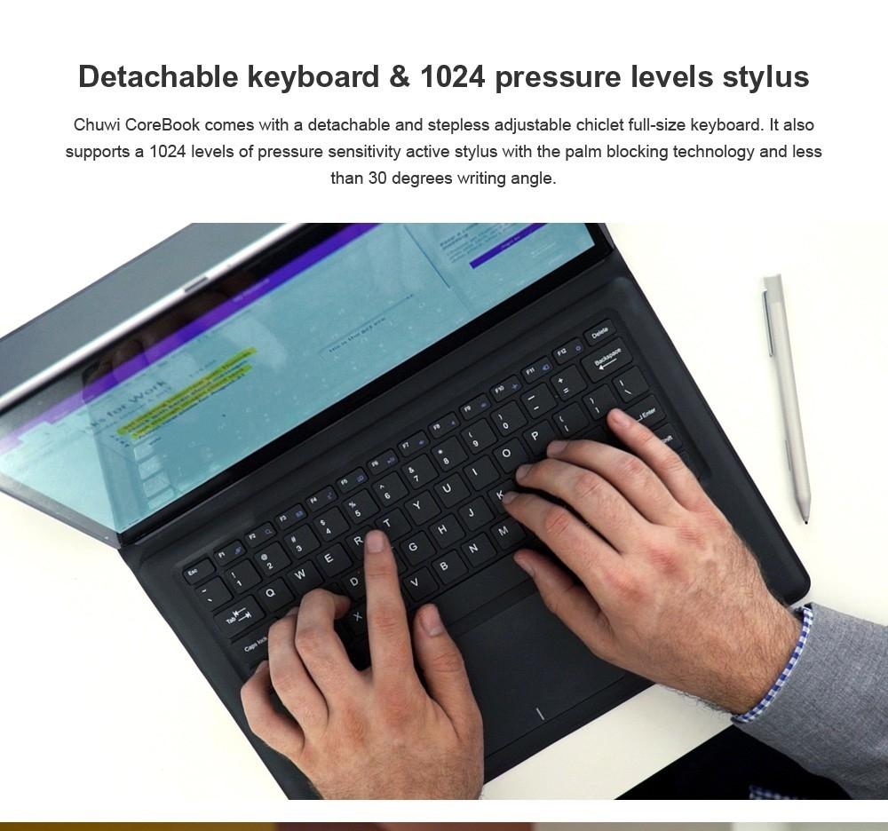 Chuwi Chuwi CoreBook CWI542 2 in 1 Tablet PC with Keyboard