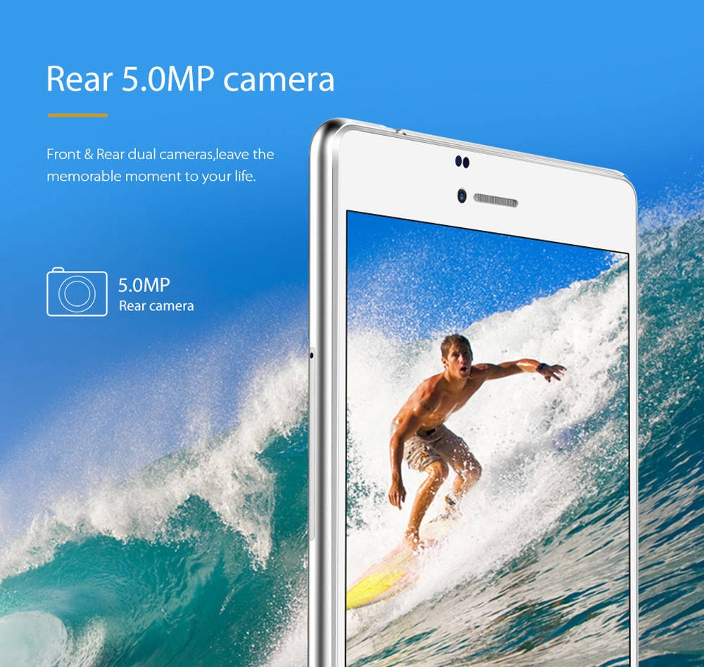 Cube WP10 6.98 inch 4G Phablet Windows 10 Mobile MSM8909 Quad Core 1.3GHz 2GB RAM 16GB ROM 5.0MP Rear Camera IPS Screen WiFi OTG GPS Bluetooth 4.1