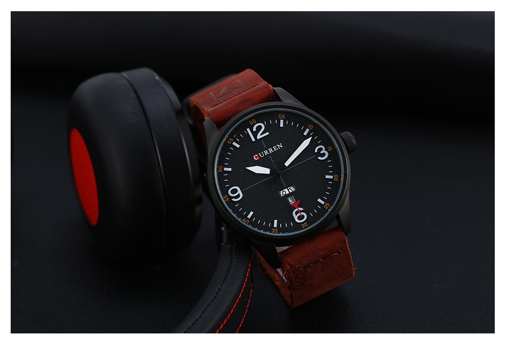 CURREN 8265 Japan Movement Male Quartz Watch