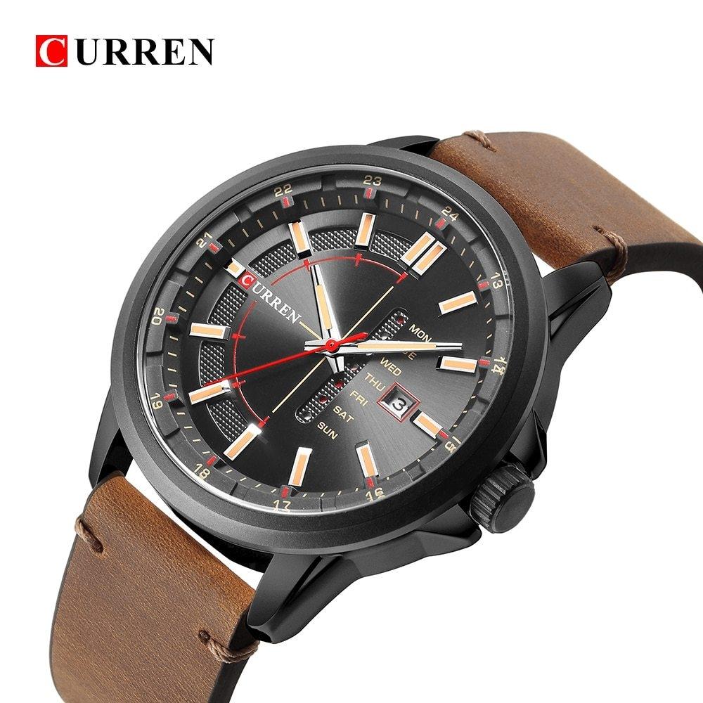282d8e22db6 CURREN 2018 Curren 8307 Men Top Brand Luxury Famous Male Clock ...