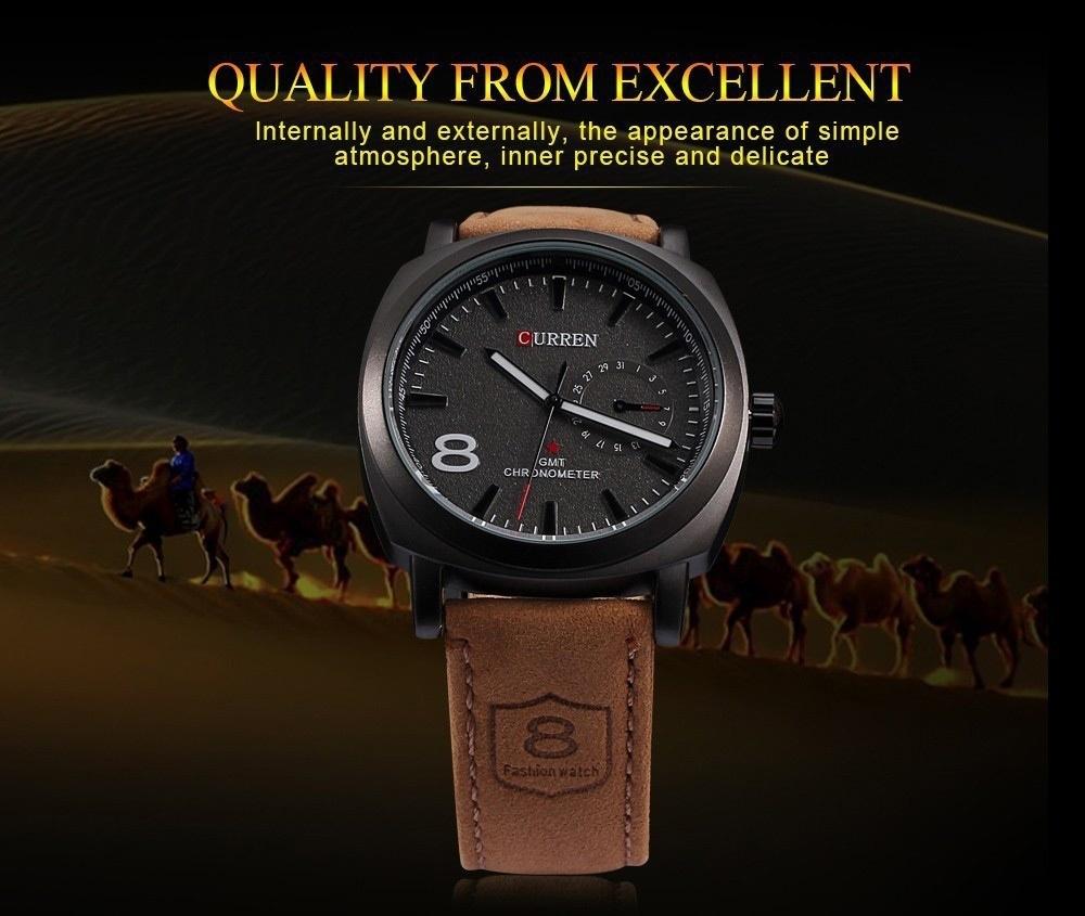 Men Fashion Casual Unisex Wristwatch Sport Quartz Watch Business Watch white 28cm 1