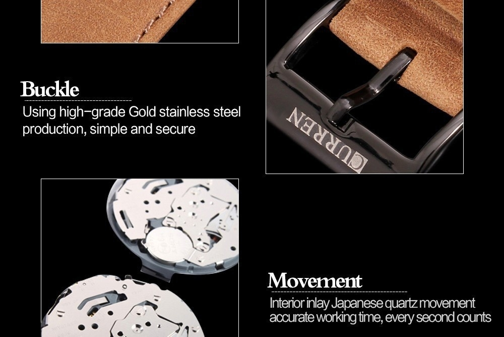 Men Fashion Casual Unisex Wristwatch Sport Quartz Watch Business Watch white 28cm 8