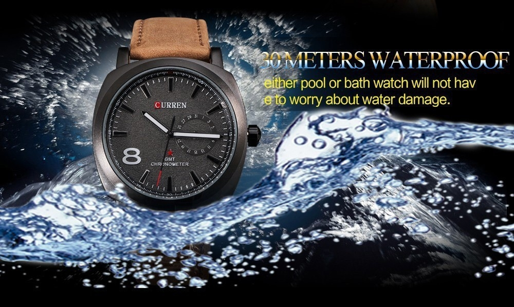 Men Fashion Casual Unisex Wristwatch Sport Quartz Watch Business Watch white 28cm 4