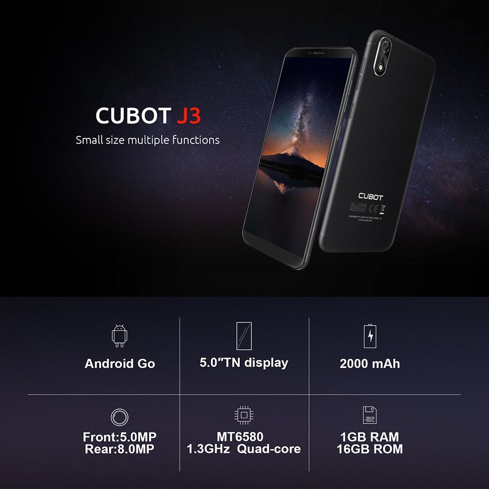 Cubot J3 - 5 0