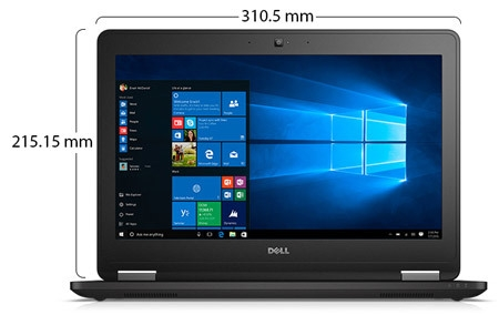 Dell Latitude E7270 Ultrabook Laptop Physical Features