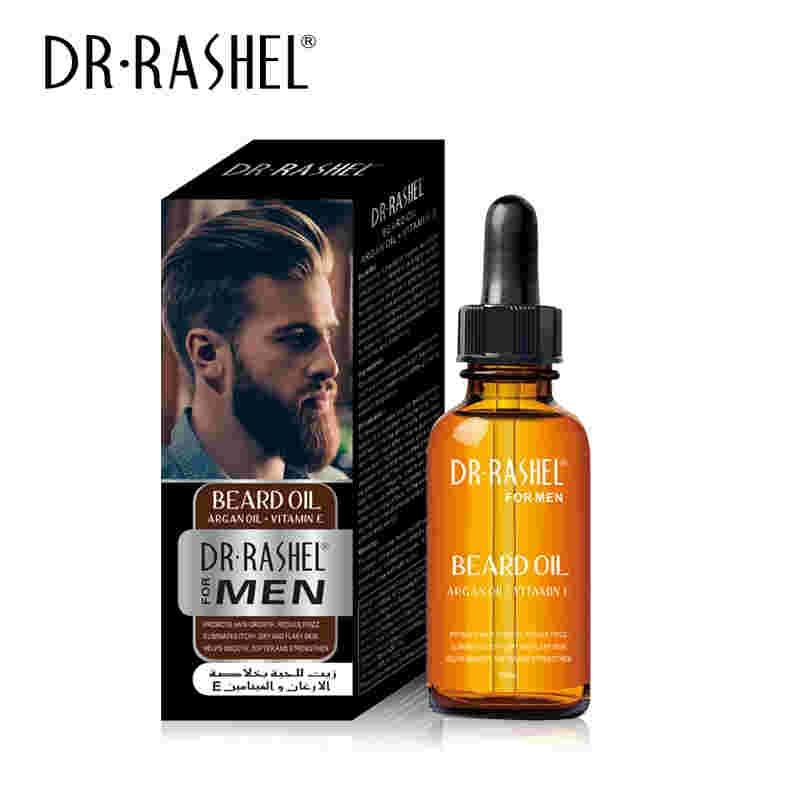 DR RASHEL BEARD OIL Hair Growth With ARGAN  & AVACADO,JOJOBA OIL  & Vita
