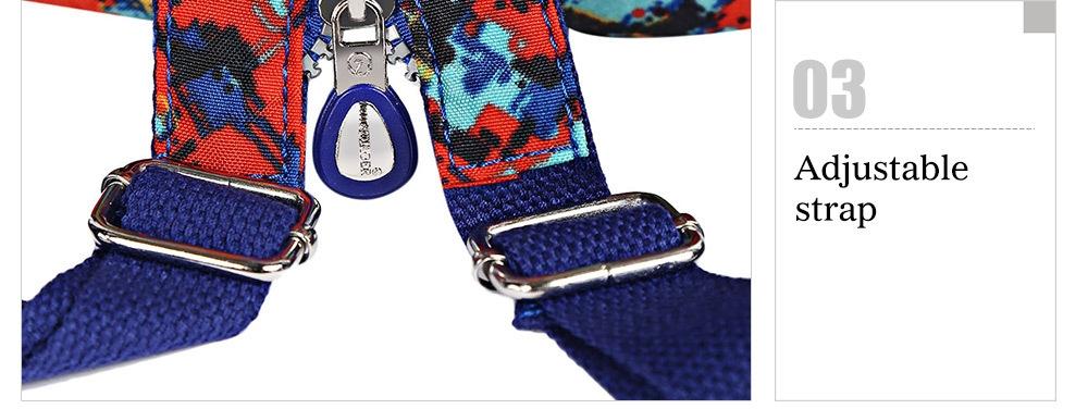 JINQIAOER Casual Convertible Women Canvas Backpack