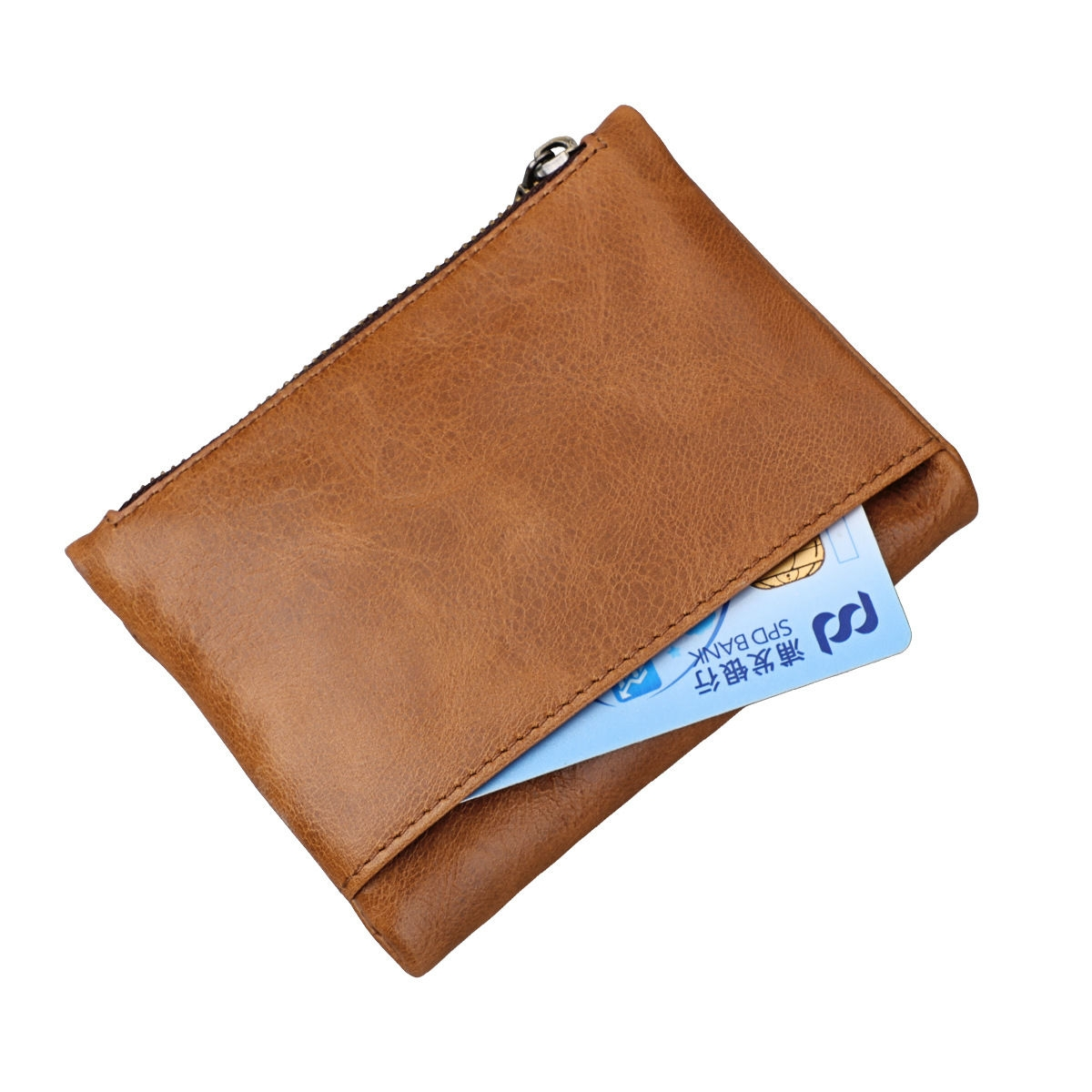 bdc92199ae80 Wallet Leather Men's Wallet Anti-theft Brush RFID Head Co