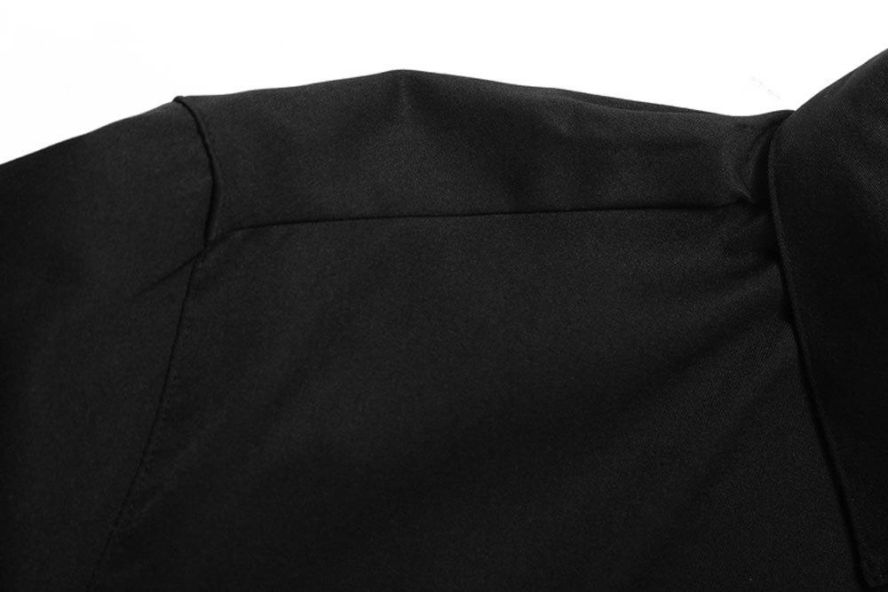 Men's   Autumn Long Sleeve Large Size Casual Print Shirt