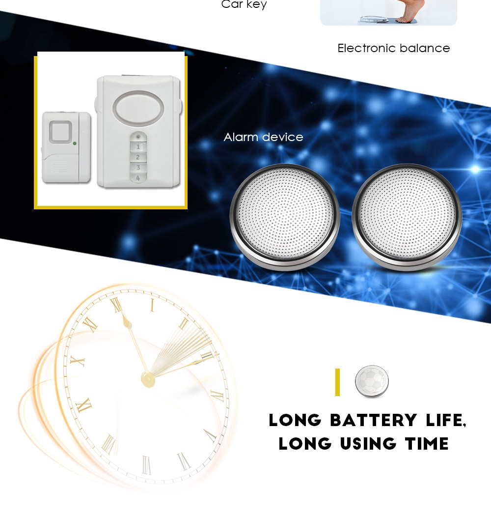 CR2450 550mAh 3V Lithium Battery for Watch