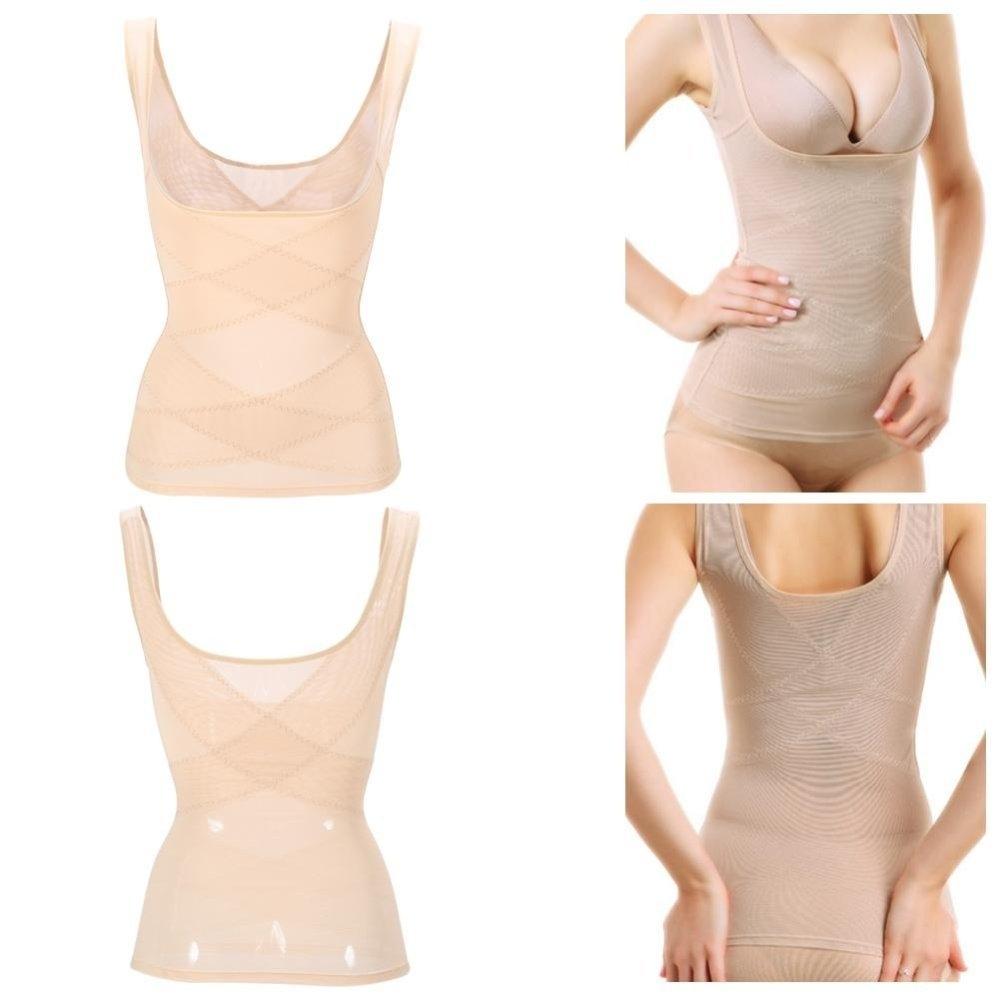 3d6ab31dd3 Fashion Corset Bustier Shapewear Vest Waist Tummy Control Trainer ...