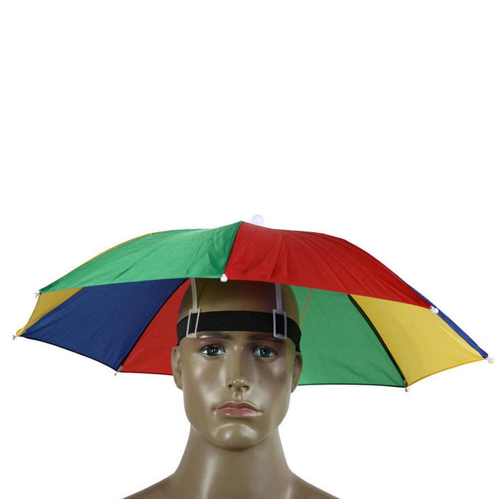 8d8689a7265 Fashion Foldable Novelty Umbrella Sun Hat Golf Fishing Camping Fancy ...