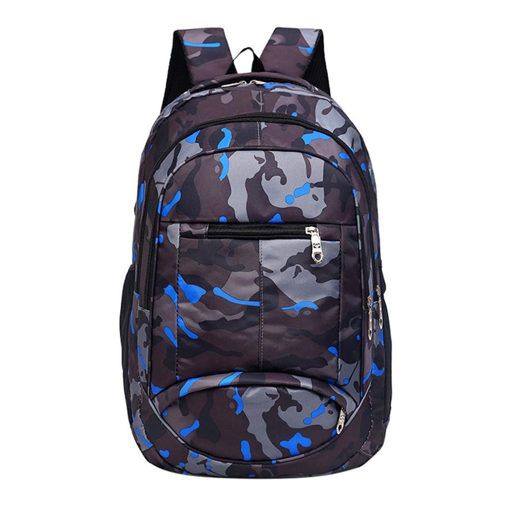 9a85c0745025 Fashion jiuhap store Backpack Teenage Girls Boys School Backpack Camouflage  Printing Students Bags-Black