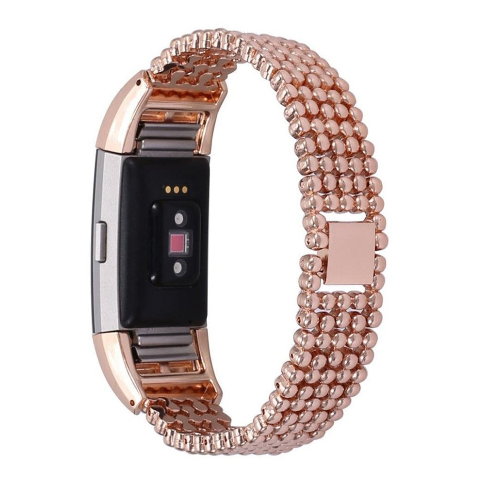 Newest Luxury Steel Bead Style Smart Watch Band Fashion Replacement Women Female