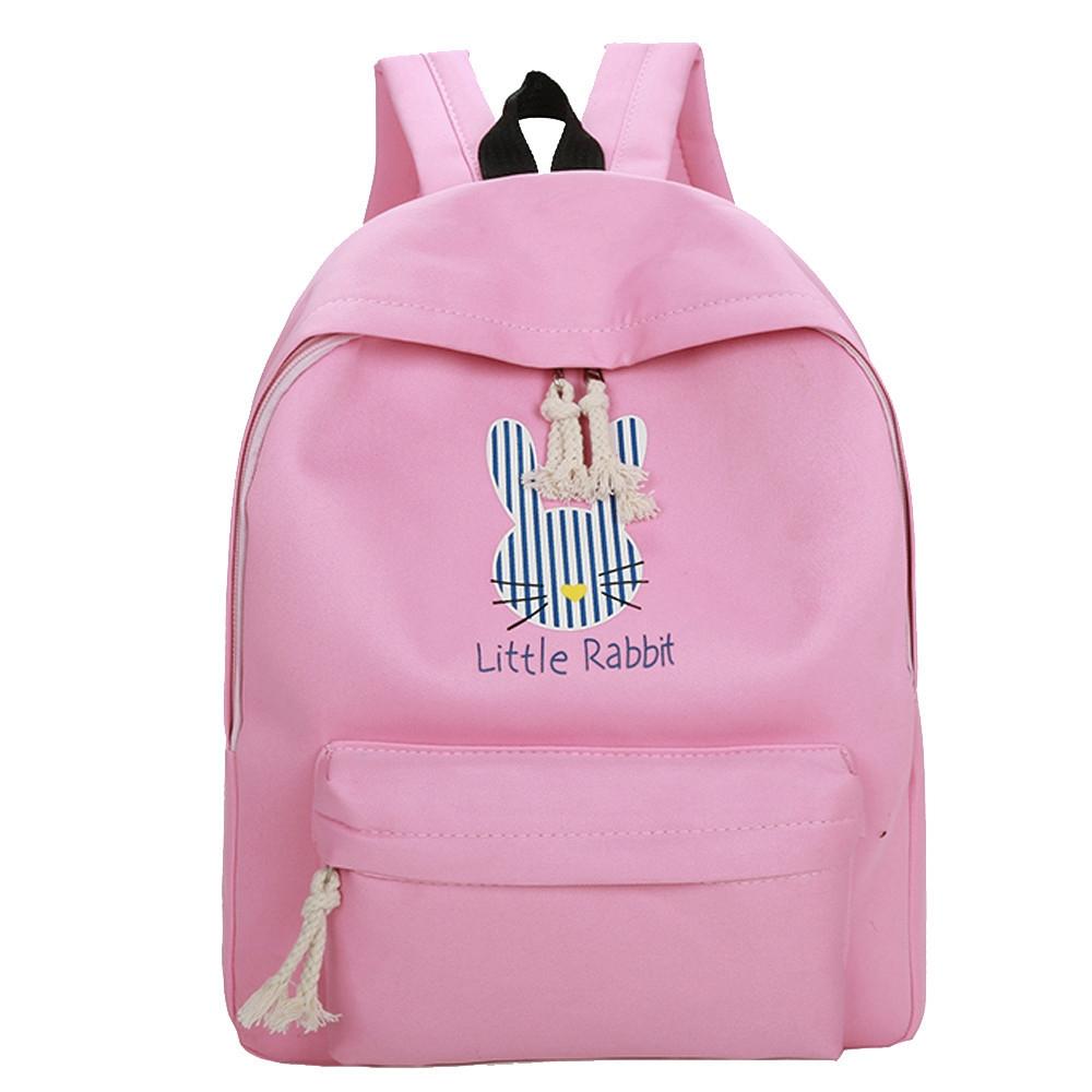 ab34822337 Fashion jiuhap store Women Girls Cute Cartoon Rabbit Preppy Style ...