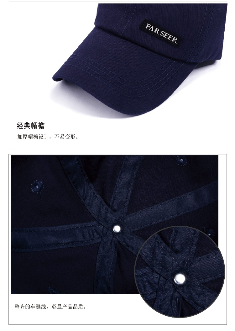 f450252eba2 Fashion Summer Golf Baseball Caps For Men Outdoor Sports Adjustable ...