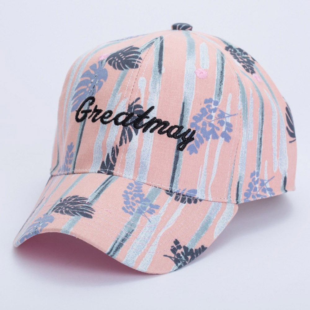 Fashion singedan Women s Sports Baseball Cap Snapback Golf ball Hip-Hop Hat  -Pink 25244a81743