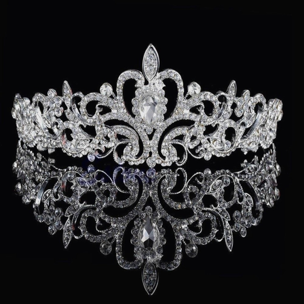 Fashion Bridal Princess Austrian Stunning Crystal Hair Tiara