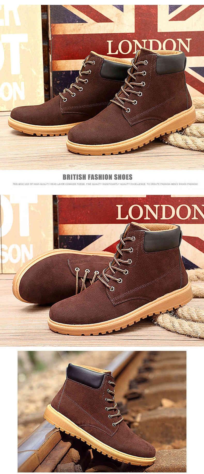 Leisure Fashion Martin Shoes