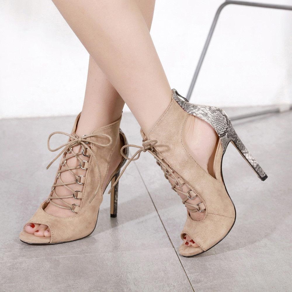 b695aec1b27 Fashion Blicool Shop Women Sandals Women High Heel Pumps Lady Martin ...