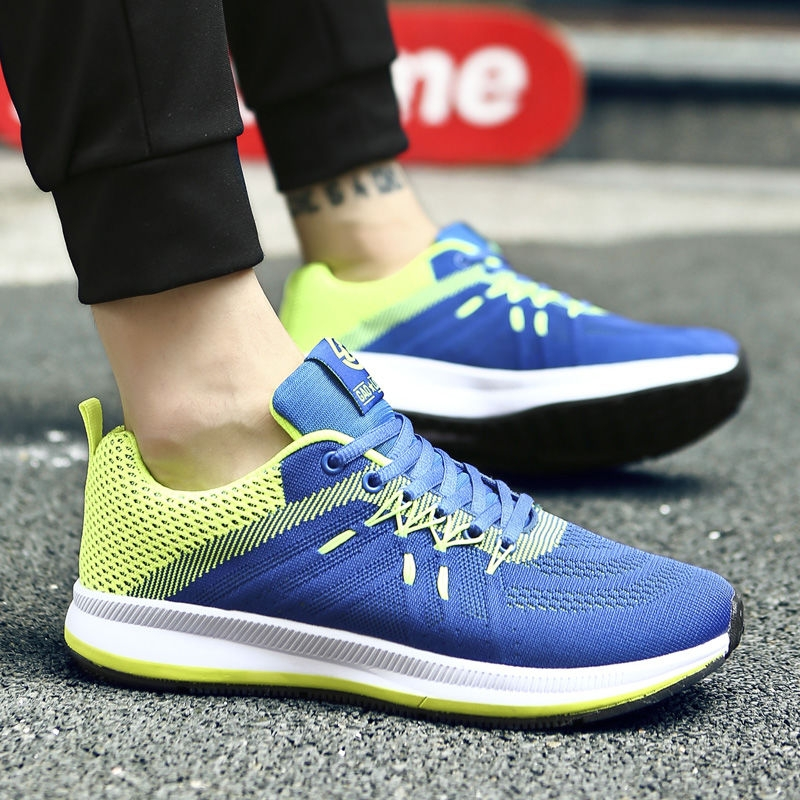 Flying Knitted Breathable Leisure Shoes