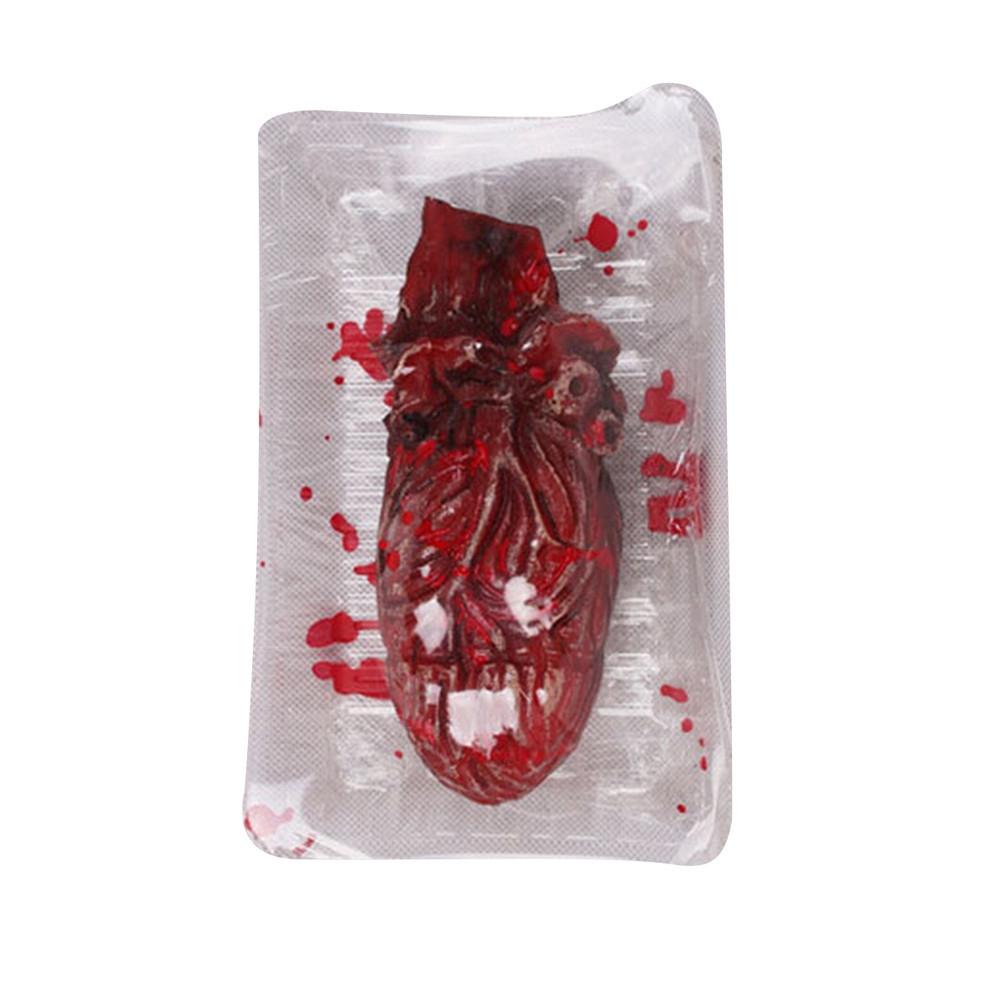 Fashion Braveayong Halloween Fake Heart Brain Organ Haunted