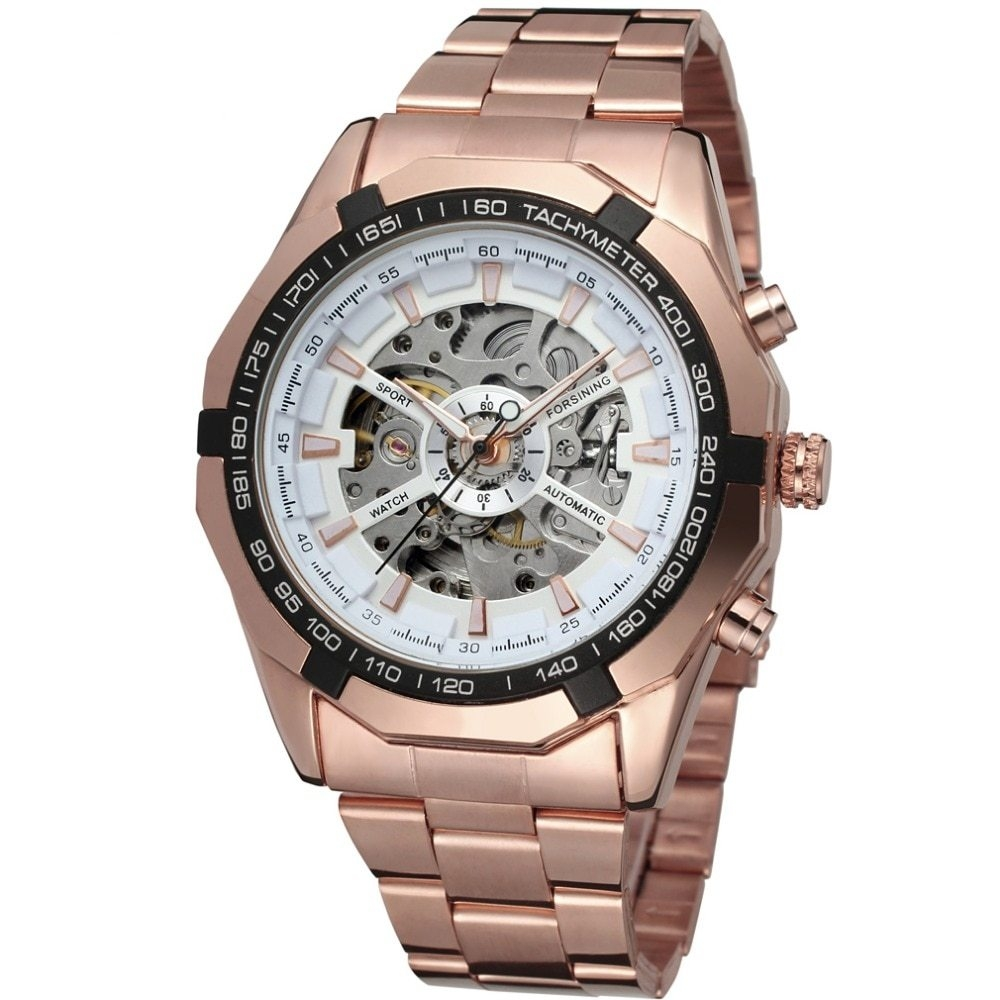 43990ecc56c FORSINING Forsining Watch Men Fashion Relogio Masculino Automatic  Mechanical Gold Skeleton Vintage Watch 2018 Mens Watch Top Brand Luxury  F120509 BDZ