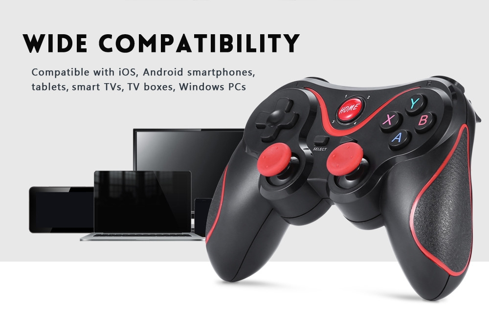 GEN GAME X3 Wireless Bluetooth Gamepad Game Controller for iOS Android Smartphones Tablet Windows PC TV Box
