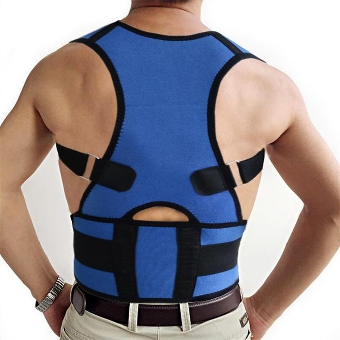 Shoulder back suort belt
