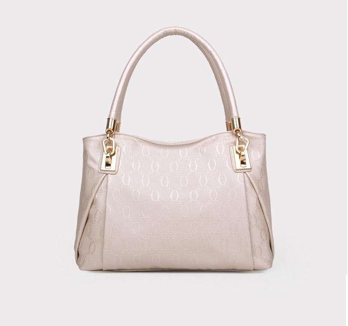 Women 3pcs Tote Bag PU Leather Handbag Purse Bags Set