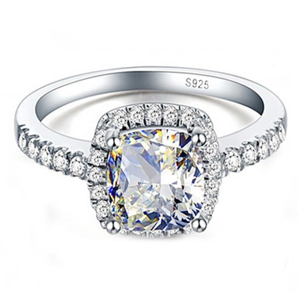 YANHUI-Real-925-Anillo-de-Plata-Esterlina-Con-la-Estampilla-S925-4-Quilates-CZ-Diamant-Anillos