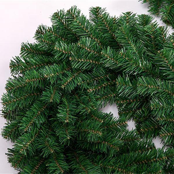 2.7m Green Cane Christmas Tree Garland